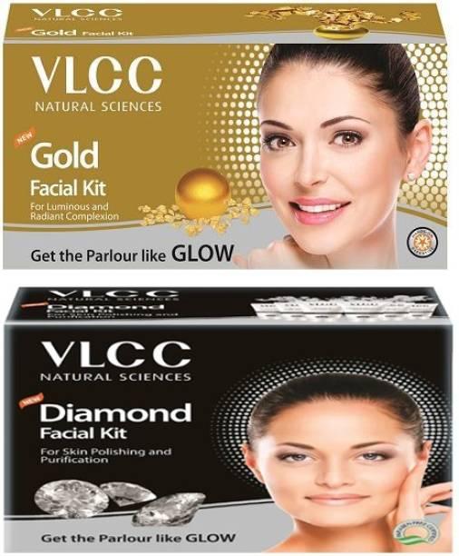 VLCC Gold Facial kit & Diamond Facial kit