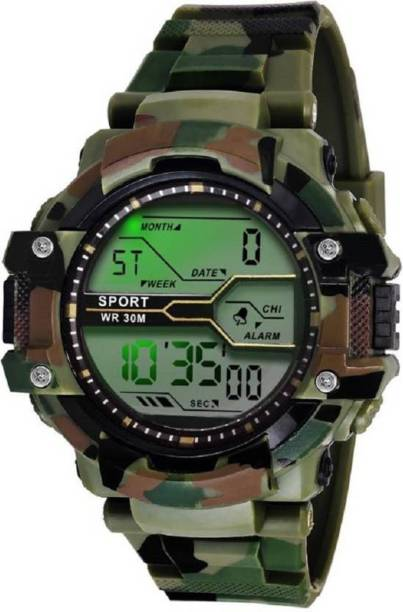 HINIVA Army Digital Sporty Analog Digital Watch  - For Boys