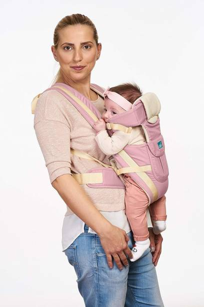 U-grow Four Way Baby Carrier, Pink Baby Carrier