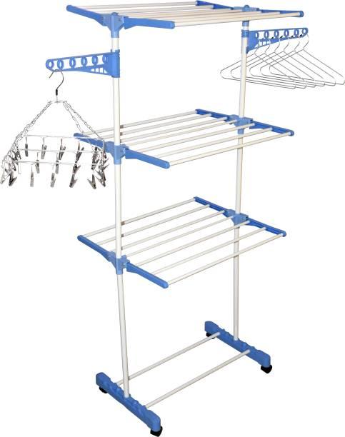 SHP SONI Steel Floor Cloth Dryer Stand PRIYANG002
