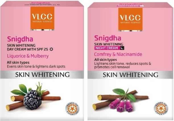 VLCC Snigdha Skin Whitening Day Cream SPF 25 and Night Cream