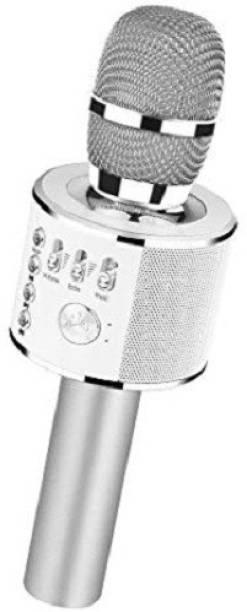 Buy Genuine WS-858 Wireless Bluetooth Karaoke Singing Mic Speaker Player Microphone