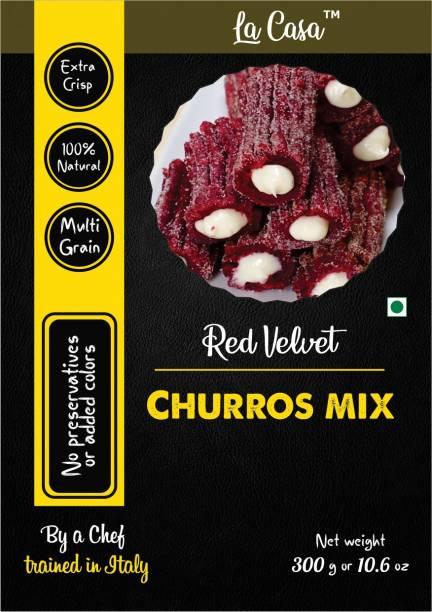 La Casa Red Velvet Churros Premix 300 g