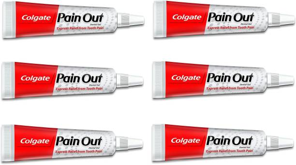 Colgate Pain Out Dental Gel - Express Relief from Tooth Pain Toothpaste