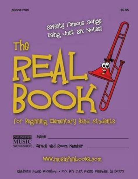 The Real Book for Beginning Elementary Band Students (Pbone Mini)