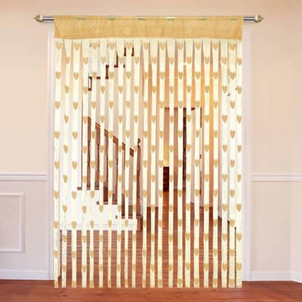 Roomesssentials 183 cm (6 ft) Tissue Window & Door Curtain (Pack Of 2)
