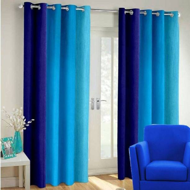 Home Expert 152.4 cm (5 ft) Polyester Window Curtain (Pack Of 2)
