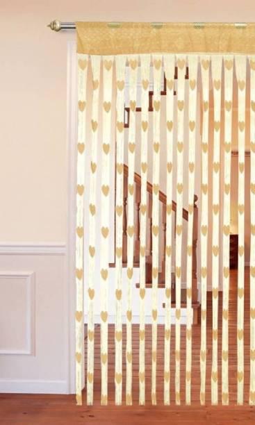 New panipat textile zone 183 cm (6 ft) Tissue Window Curtain Single Curtain
