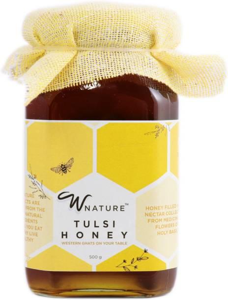 wnature Organic Tulsi Honey-100% Pure N Natural-500g