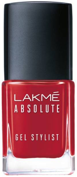 Lakmé Absolute Gel Stylist Nail Color Scarlet Red