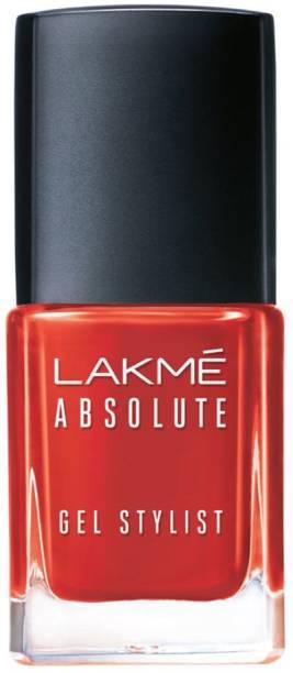 Lakmé Absolute Gel Stylist Nail Color Tomato Tango