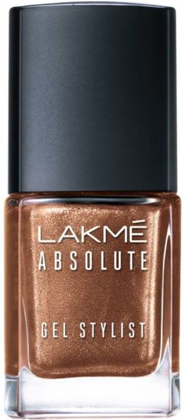 Lakmé Absolute Gel Stylist Nail Color Gold Dust