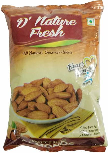 D NATURE FRESH Roasted Salted Almonds,40gm Almonds