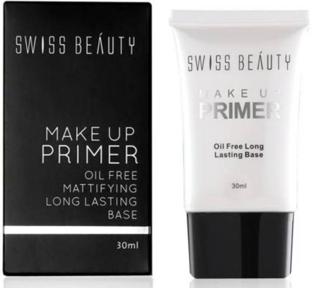 SWISS BEAUTY Make up Primer Oil Free Mattifying Long Lasting Base Primer  - 30 ml