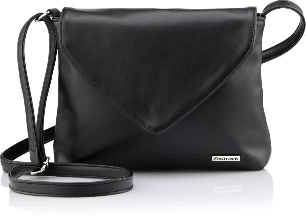 Fastrack Black Sling Bag Sling Bag
