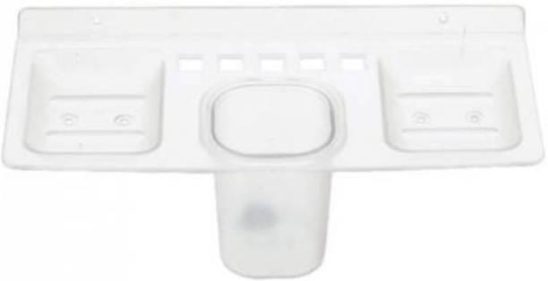 YO INDIA Soap case/Toothbrush holder/Paste holder Plastic Toothbrush Holder