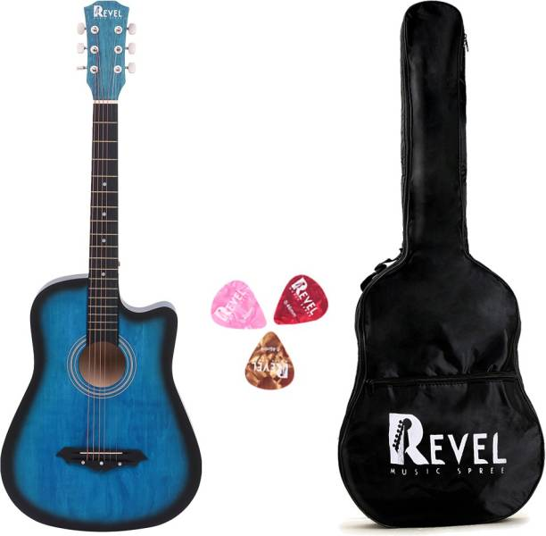 REVEL RVL-38C-LGP-BLS Linden Wood Acoustic Guitar