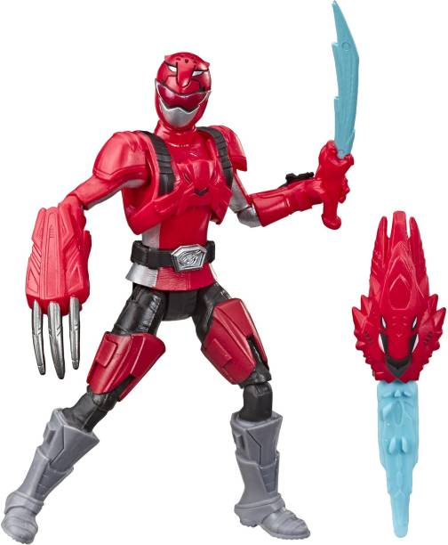 Power Rangers Beast Morphers Red Ranger 6-inch Action Figure Toy inspired by the TV Show