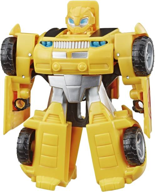 TRANSFORMERS Heroes Rescue Bots Academy Bumblebee Converting, 4.5-Inch Figure, For Kids Ages 3 and Up