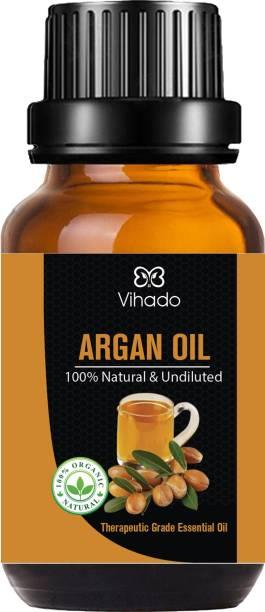 Vihado Best Argan Oil, Cold Pressed Organic, for Hair, Skin