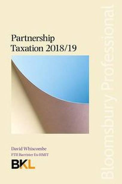 Partnership Taxation 2018/19