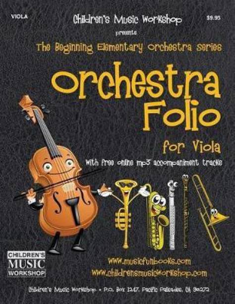 Orchestra Folio for Viola