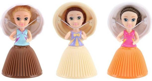 CupCake Surprise Mini Cupcakes Surprise Doll Pack 3 Pcs