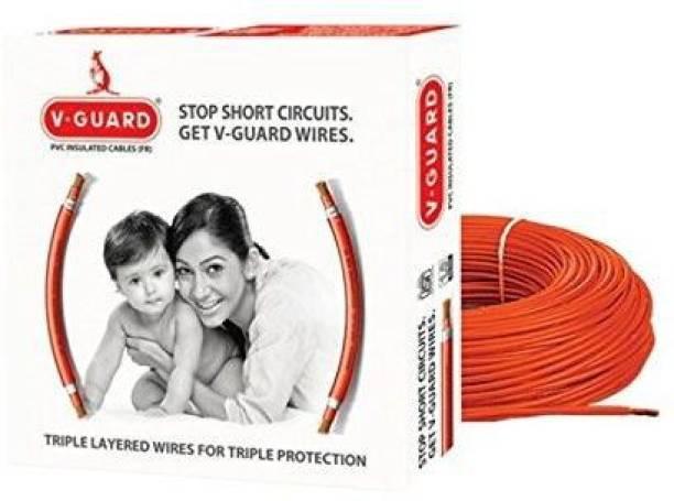 V-Guard PVC Orange 90 m Wire