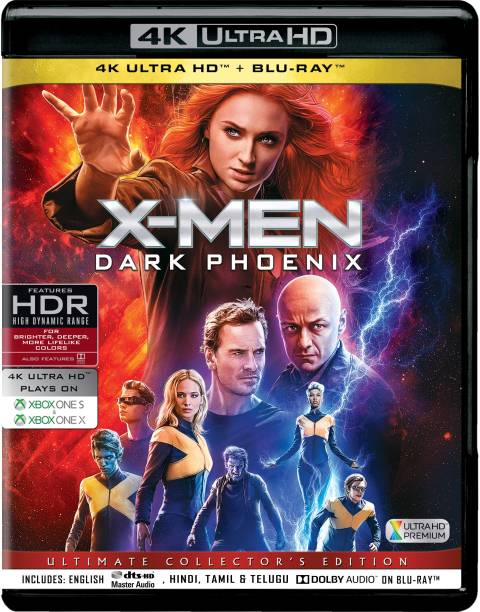 Dark Phoenix (4K UHD & HD) (2-Disc) [Blu-ray]