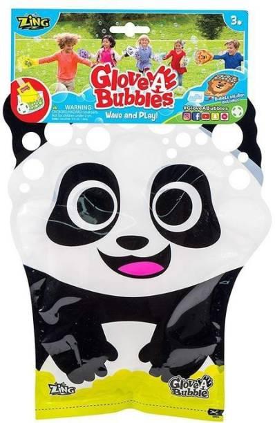 Zing Glove A Bubble-Panda Toy Bubble Maker