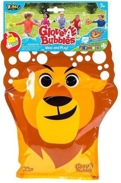 Zing Glove A Bubble-Lion Toy Bubble Maker