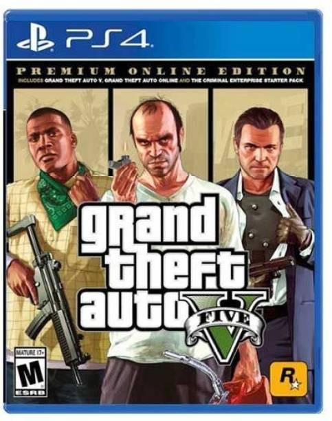 PS4 GTA 5 (Premium Online Edition) (Premium Online Edition)