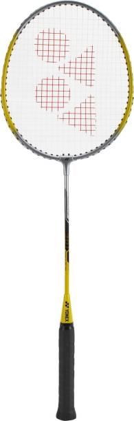 YONEX Gr 301 Yellow Strung Badminton Racquet