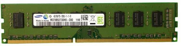 SAMSUNG PC3 12800S DESKTOP PC RAM DDR3 4 GB (Dual Channel) PC (M378B5273DH0-CK0, DDR3-1600 , 1.5v, 2RX8)