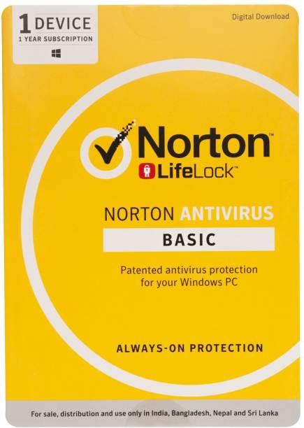 Norton Anti Virus 1 User 1 Year