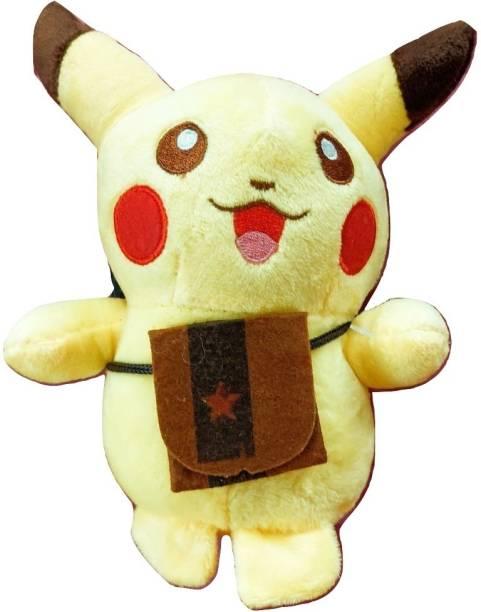 POKEMON Pikachu Yellow Soft Toy (6 inch)  - 8 inch