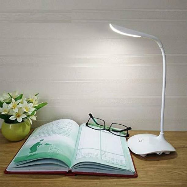 kakustore Rechargeable LED Touch On/Off Switch Desk Lamp Study Lamp