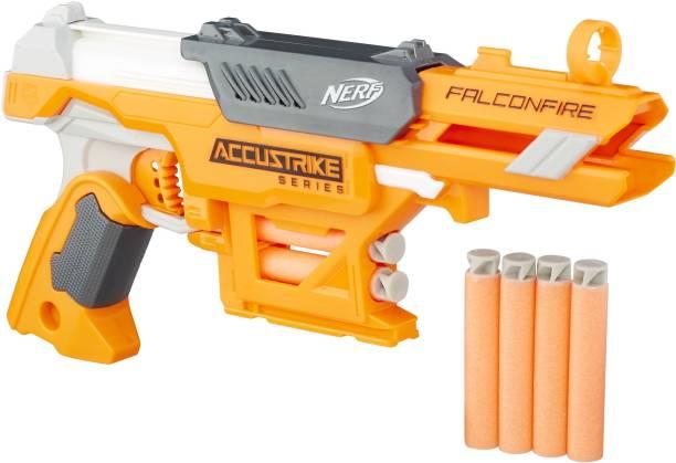 Nerf FalconFire AccuStrike Elite Blaster Guns & Darts