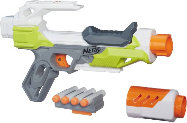 Nerf Modulus IonFire Blaster,Customize with Included Barrel Extensio Guns & Darts
