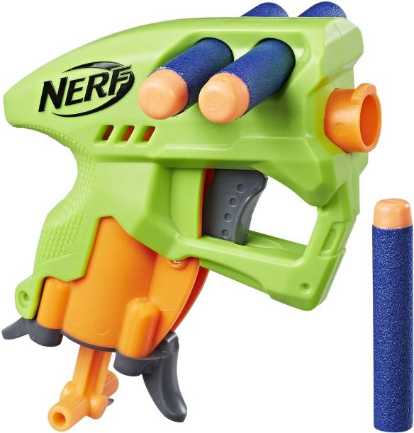 Nerf Nanofire Green Guns & Darts