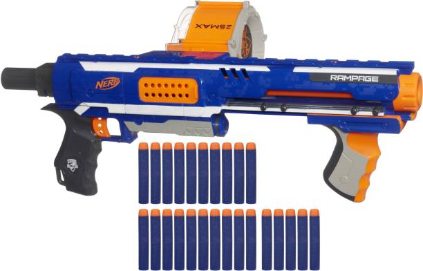Nerf Rampage N-Strike Elite Toy Blaster Guns & Darts