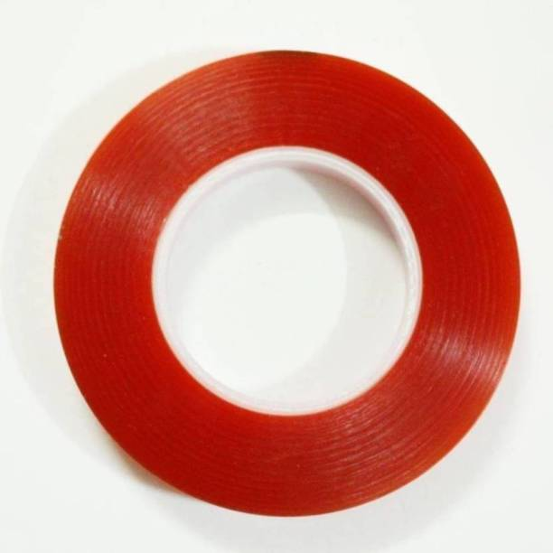 Qazila Wig tape double sided for wigs and patches 25mm red transparent tape/wig tape Hair Accessory Set