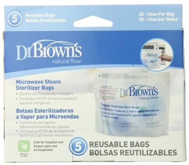 Dr. Brown's Natural Flow Microwave Steam Sterilizer - 1 Slots