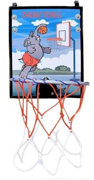 SPORTSHOLIC New Hangable Basket Ball Board RIng For Size 3 Basket Ball Basketball Ring