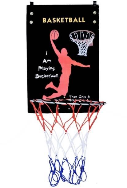 SPORTSHOLIC Hangable Basketball Ring For Size 5 Basket Balls For Indoor Use Basketball Ring