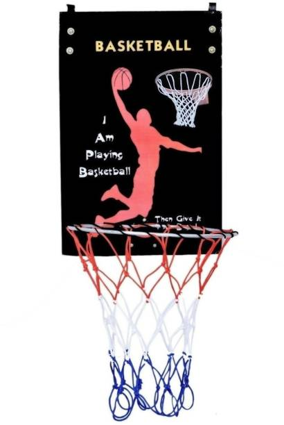 SPORTSHOLIC Basketball Board Ring For Size 5 Basket Ball, Indoor Use, Kids Basketball Ring