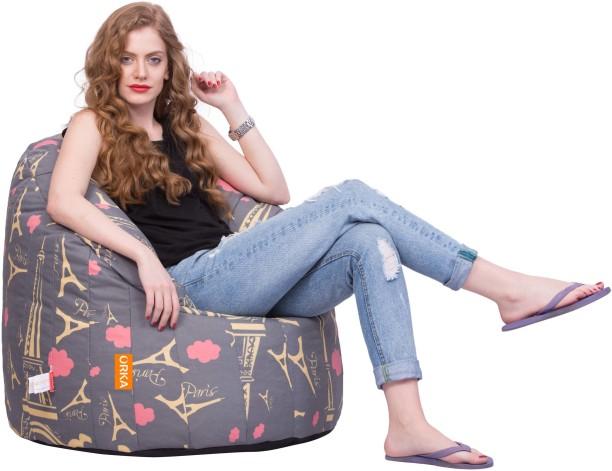 """Popular 10 1//2 """" Doll Bean Bag Chair Furniture **Paris**"""