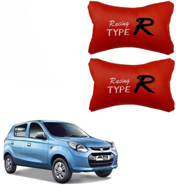 KANDID Red Leatherite Car Pillow Cushion for Maruti Suzuki