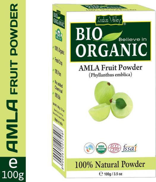 Indus Valley Bio Organic 100% Pure Amla Powder