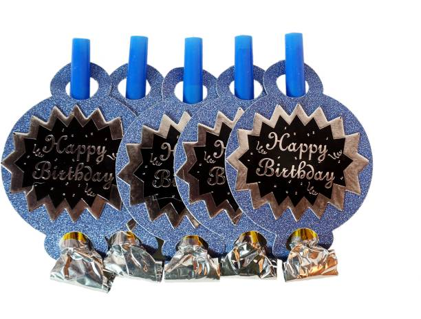 Juneja Enterprises Happy Birthday Whistles Party Blowouts